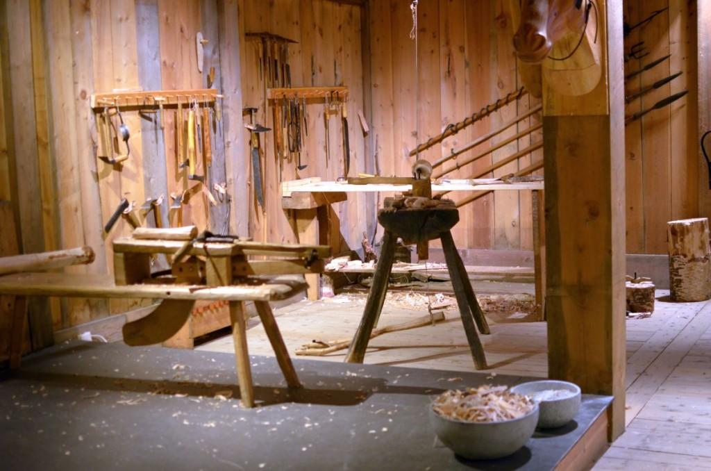 Les techniques de travail du bois