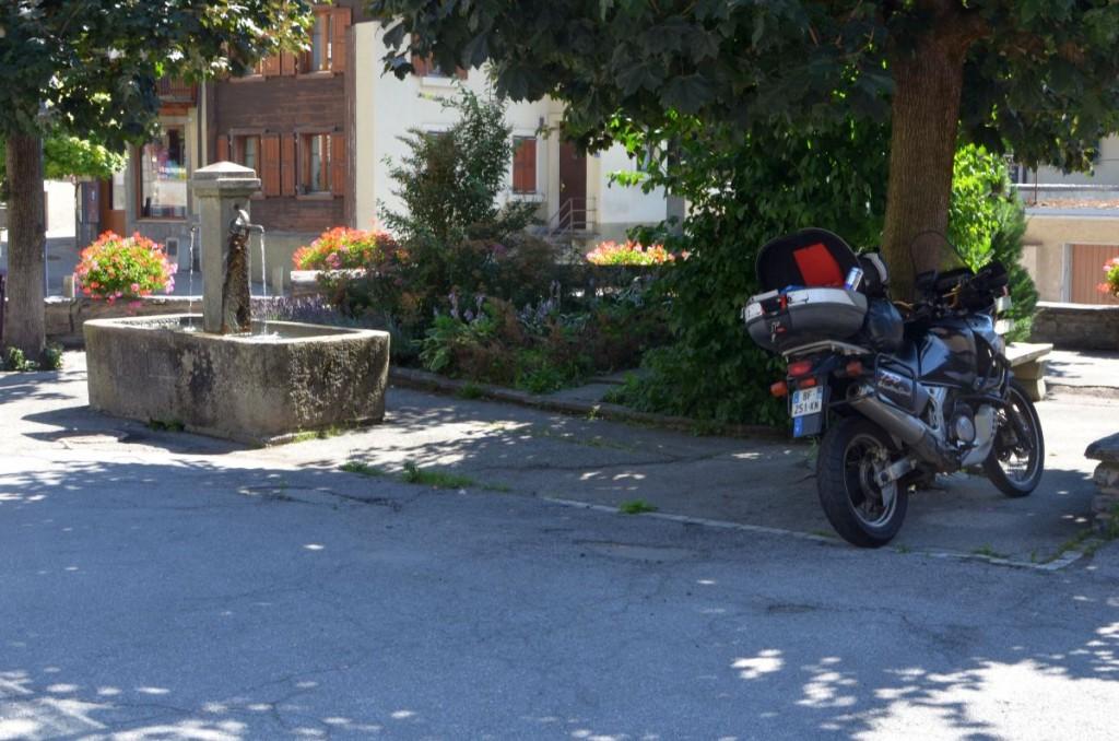 De l'ombre et une fontaine