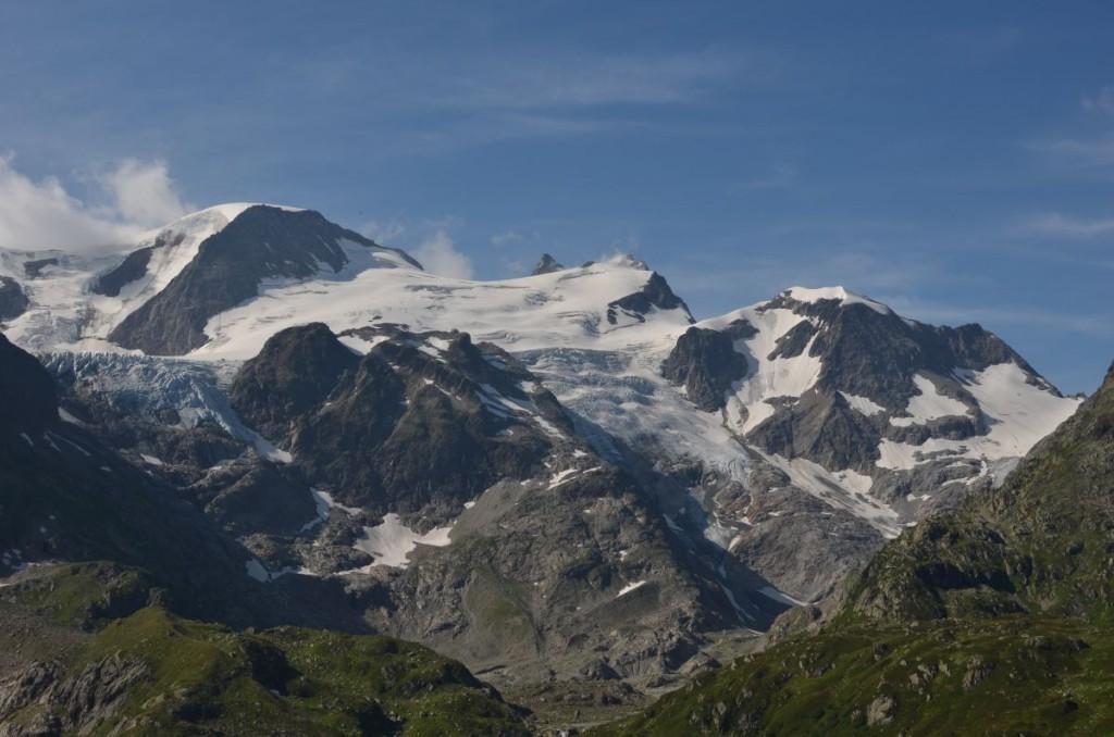 Il y a un glacier la haut. Ca vaut vraiment le détour