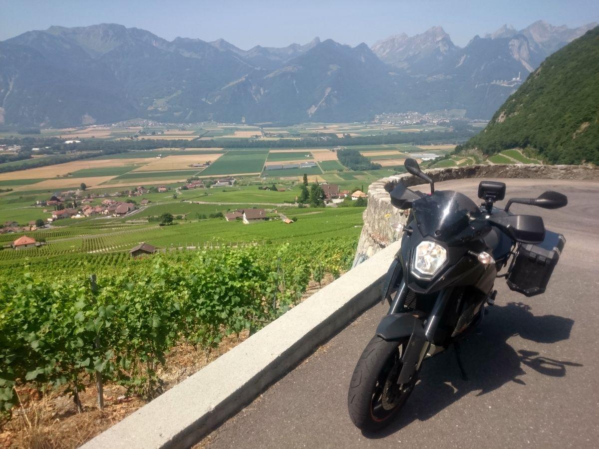 Encore un ptit tour en suisse…mais pas que !!