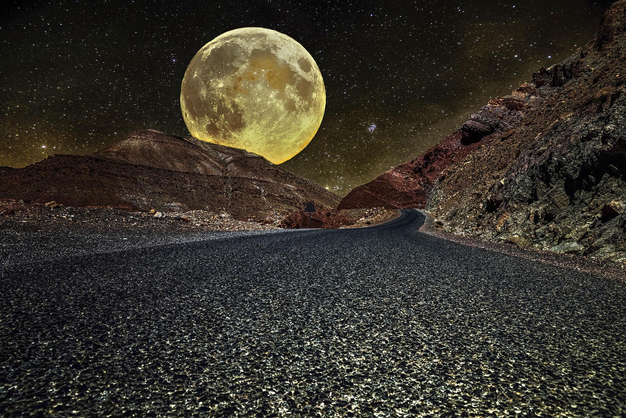 Comment observer une super lune ?