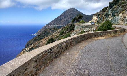 Jour un : Le cap Corse depuis Bastia