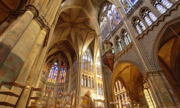 Le vrai toit cathédrale !